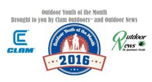 2016 Outdoor Youth of the Month_Clam_ ODN_ LOGO