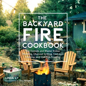 Cookbook Cover Back Yard Fire