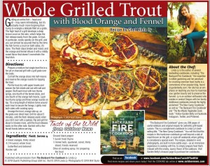 Linda Ly Whole Grilled Trout Totw