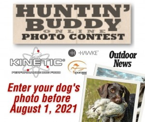2021 Enter Huntin Buddy Online Photo Contest By August 1